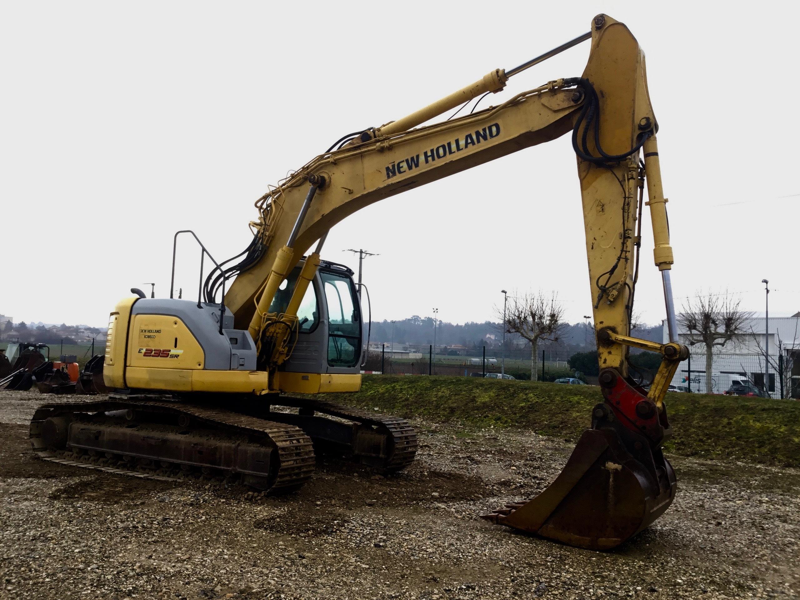 2007 - New Holland E235SR-1ES